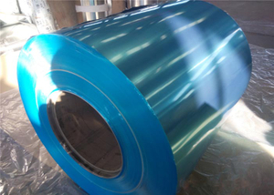 ALUMINUM COIL WITH PVC FILM OR KRAFT PAPER