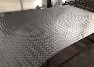 EMBOSSED ALUMINUM PLATE/ ALUMINUM PLATE WITH FIVE BAR/ CHECKERED ALUMINUM PLATE