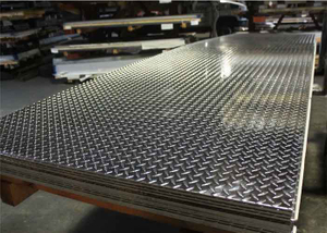 EMBOSSED ALUMINUM PLATE/ 5 BAR ALUMINUM SHEET